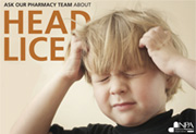 Head lice poster