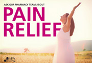 Pain relief poster